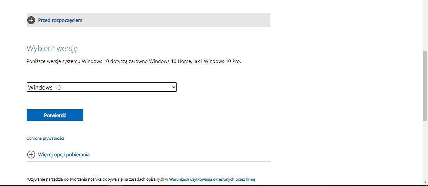 Wersja Windows