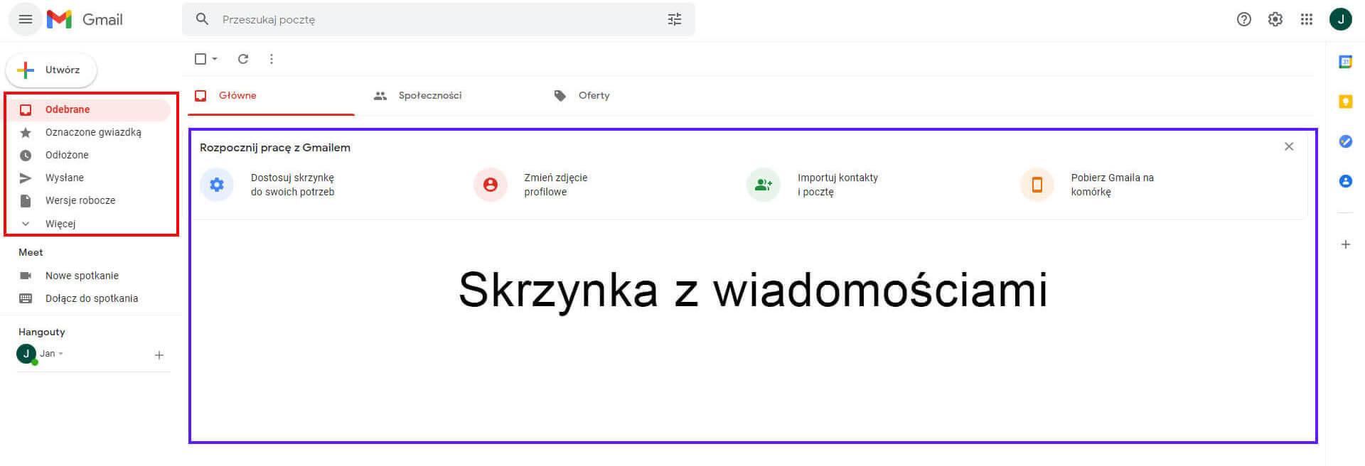 Obsługa konta Gmail